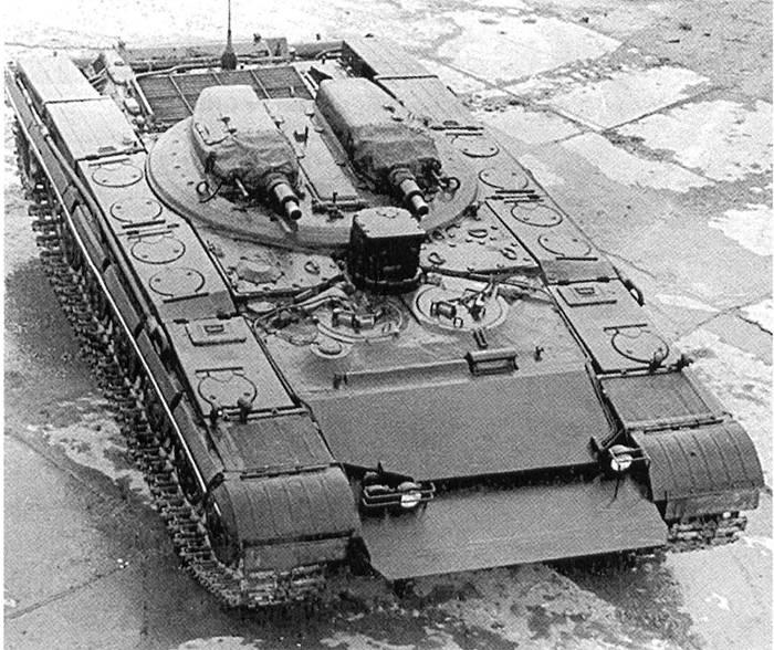 """Rocket Tank """"Objeto 287"""""""