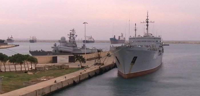Putin apresentou à DG um acordo sobre a expansão do ponto de apoio da Marinha em Tartus