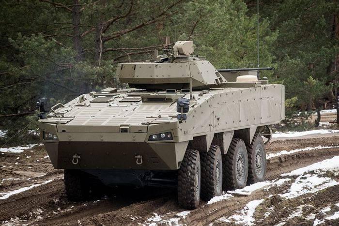 슬로바키아, 새로운 BTR Patria AMV 발표