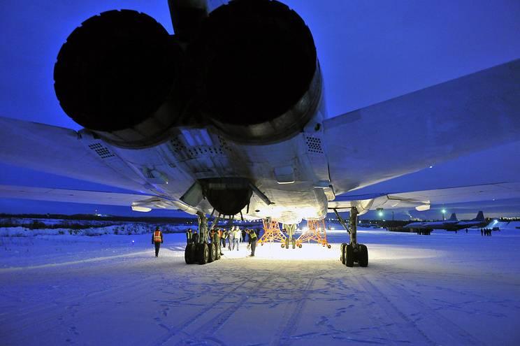 Tu-22М3がシリアのキャンペーンに参加してイルクーツク地域に戻った