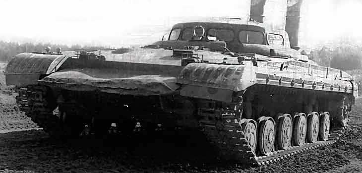"""실험용 가스 터빈 탱크 """"Object 288"""""""