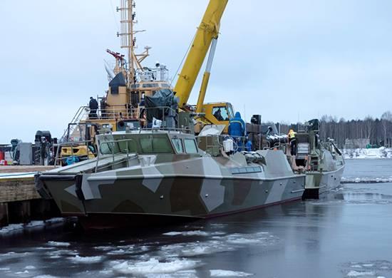 2018 के वसंत में, बेड़ा को रैप्टर नौकाओं की आपूर्ति के लिए पेला अनुबंध पूरा करेगा