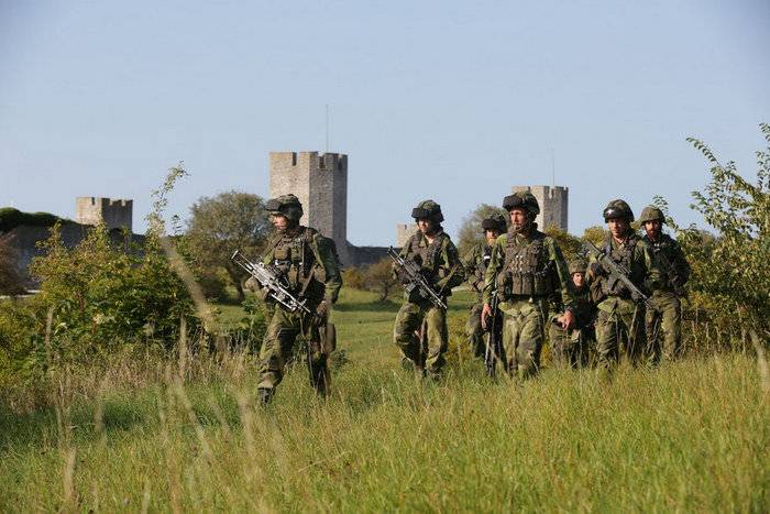 Sweden returns troops to Gotland