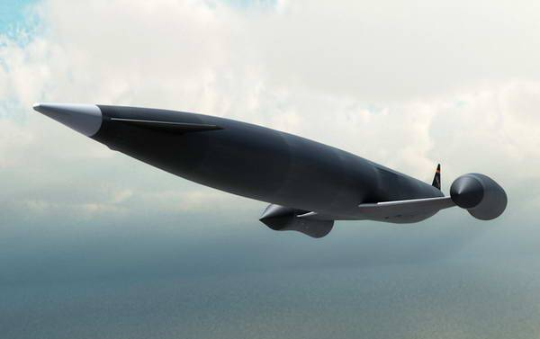 In Britain, announced the completion of the first phase of the test hypersonic device