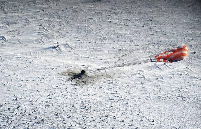 Sojus MS-05 mit drei ISS-Besatzungsmitgliedern landete in Kasachstan