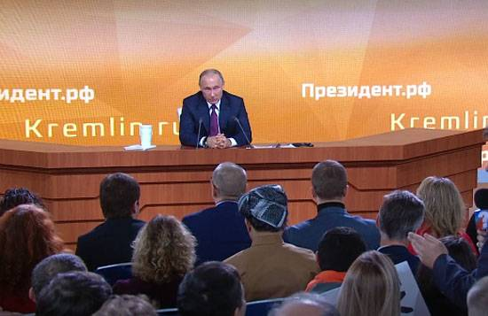President at a press conference: I consider the work of our government satisfactory