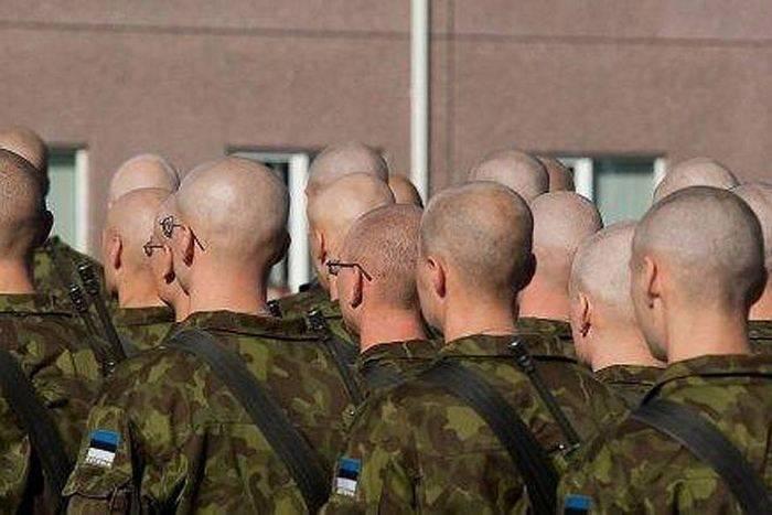 在爱沙尼亚,改变了被征募者的医疗要求