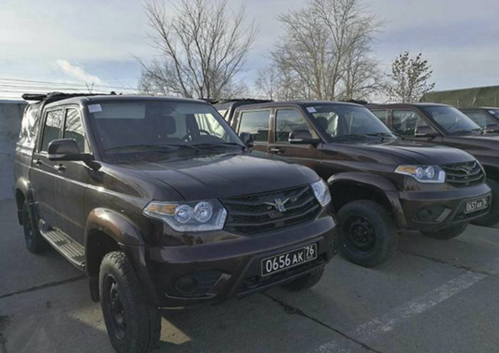 "Military police of ZVO will receive 140 special cars UAZ ""Patriot"""