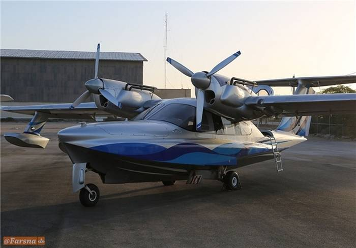 The CSIR received Russian amphibious aircraft LA-8