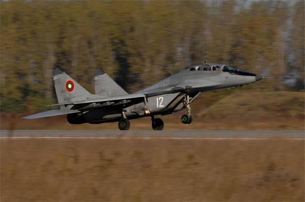 How much is the Bulgarian government going to spend on repairing the MiG-29?