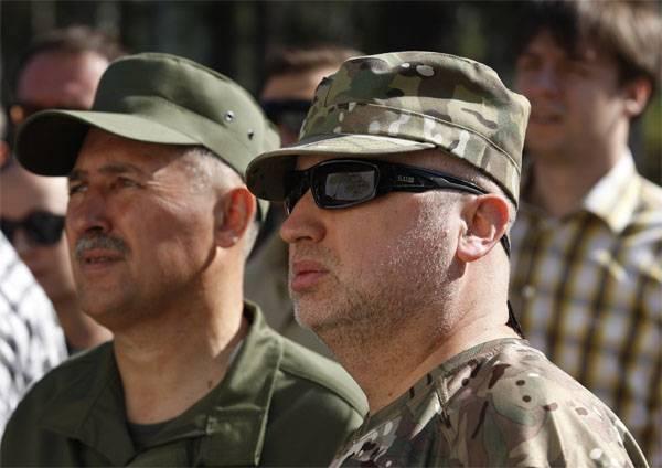 Turchinov: Tenemos un nuevo ejército. Cumplimos los criterios de la OTAN.