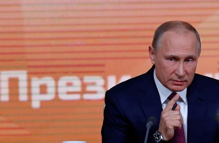 普京的新闻发布会是一个新课程的暗示