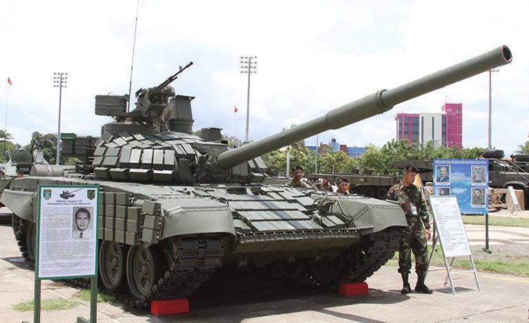 Modernized T-72B1 made Nicaragua's tank fleet the best in the region