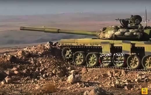 """En las posiciones de las tropas sirias notaron tanques """"Ural"""""""