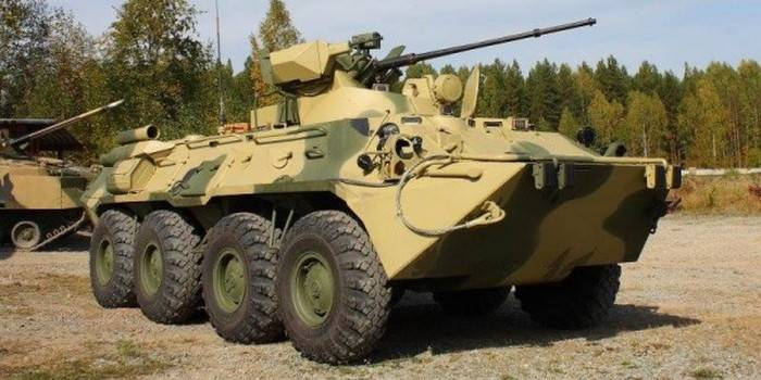 Uralvagonzavod masters overhaul of BTR-82AM
