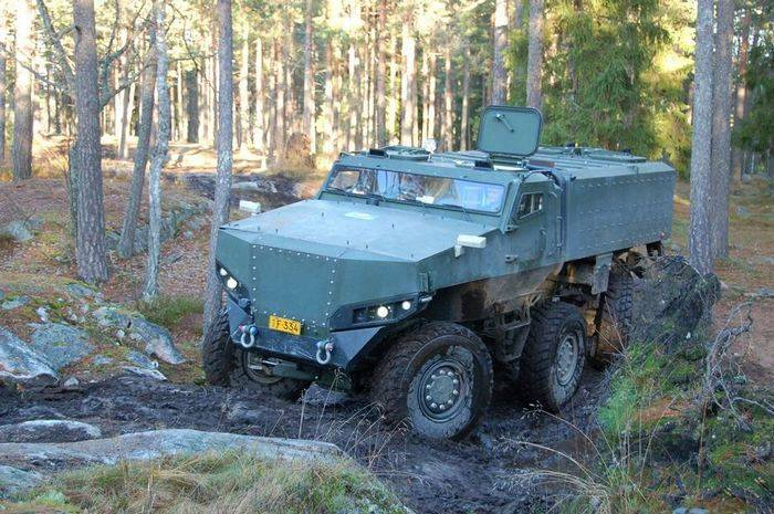 Finnish army will test new armored cars
