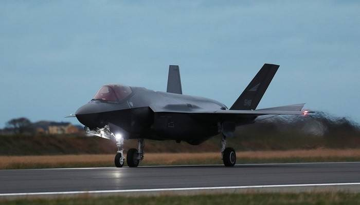 For the first time the Russian military was shown the new F-35