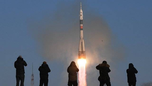 Soyuz-FG successfully launched the new crew of the ISS from Baikonur