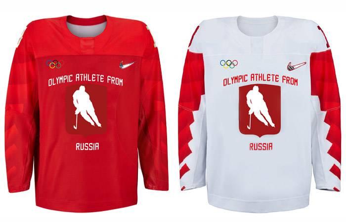 Il CIO ha dato alla Russia la forma della squadra nazionale dell'URSS?