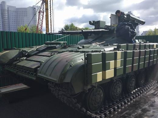 "Ukrainian BMPT ""Guardian"" and remained a model"