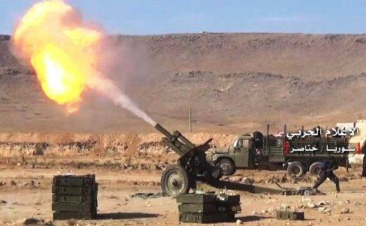 """""""Stalinist"""" howitzers observed in Syria"""