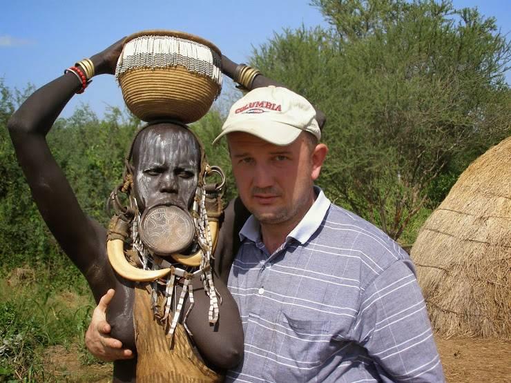 Племя двух метровых негров