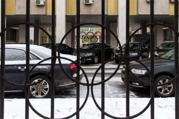 来自俄罗斯的奥林匹克运动员监狱