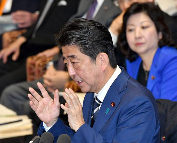 "Shinzo Abe is going to promote the solution to the Kuril ""problem"