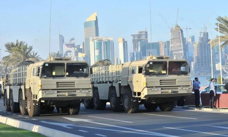 Qatar comprou o OTRK chinês com mísseis BP-12A