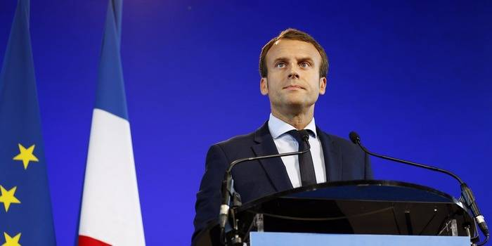 Macron said that only coalition in Syria is fighting terrorists