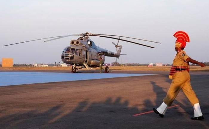 Mi-8T直升机在印度正式退役
