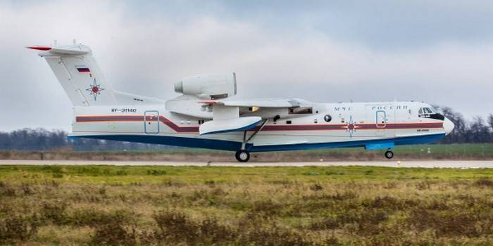 TANTK them. Gm Beriev delivered to the customer the next production aircraft Be-200ES