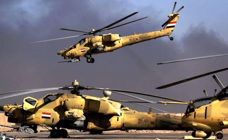 이라크는 러시아 군사 장비 공급에 관심이있다.