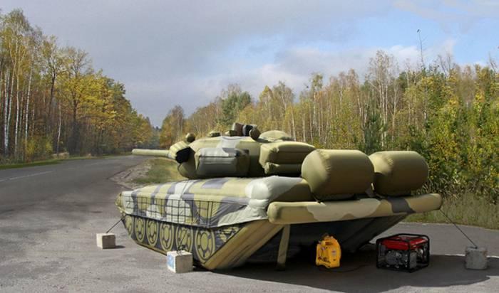 La demanda de tanques inflables y misiles se ha duplicado.