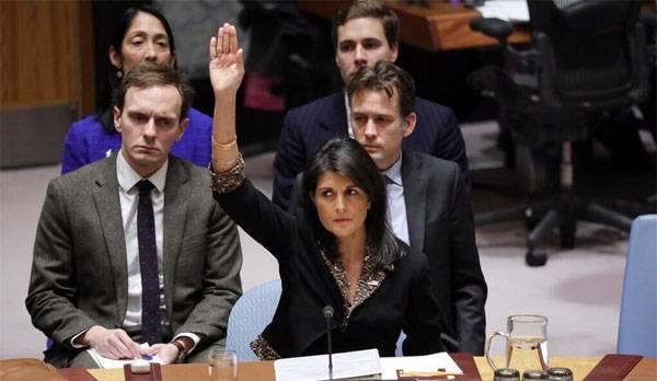 """संयुक्त राज्य अमेरिका उन लोगों को पेंसिल में ले जाएगा जो संयुक्त राष्ट्र में """"गलत तरीके से"""" वोट देते हैं"""