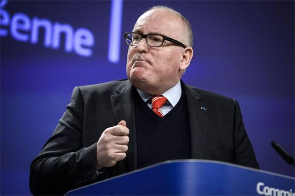 La UE está lista para introducir un régimen de sanciones contra Polonia