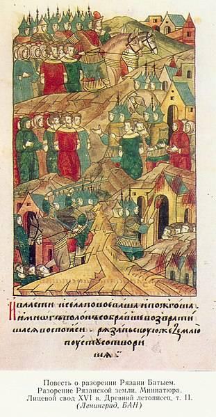 """Зачем создали фальшивку про """"монгольское"""" нашествие на Русь"""
