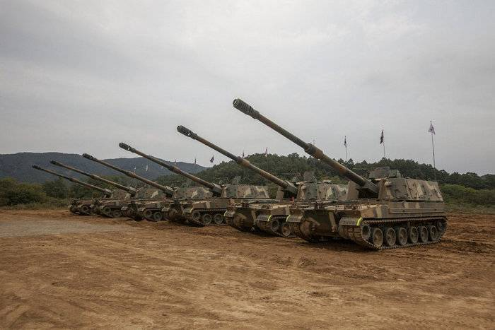 "Norway buys South Korean self-propelled guns ""Thunder"""