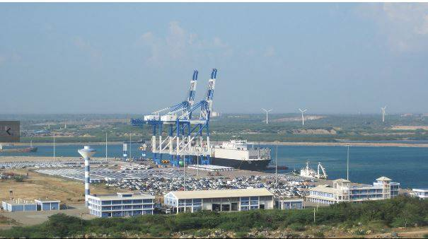 China leased the deepwater port of Hambantota in Sri Lanka