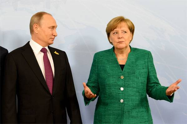 Putin explained to Merkel why Russian STsKK officers were withdrawn.