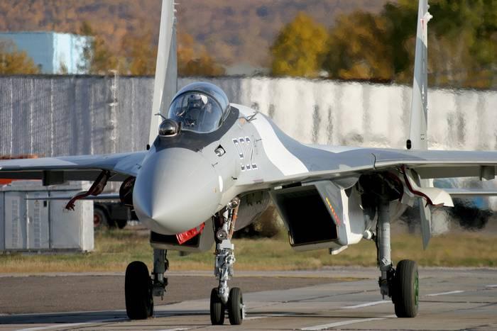 China recebeu outro lote de Su-35