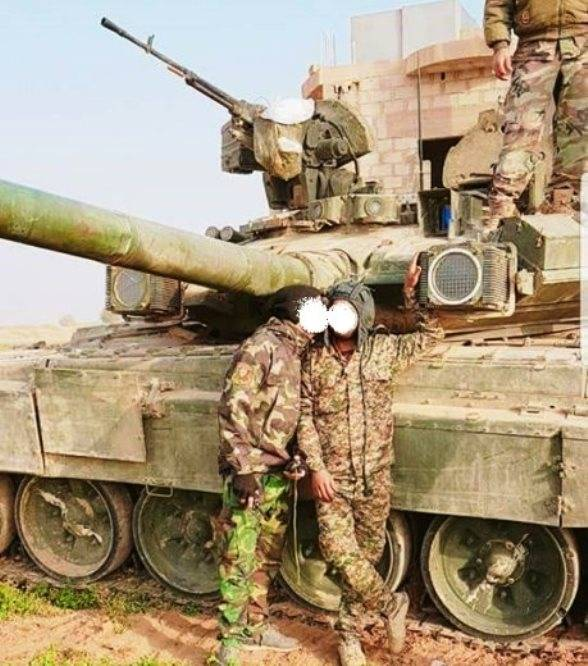 In Syria, T-XNUMHA are considered elite tanks.