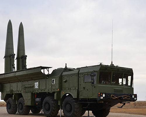 The Minister of Defense spoke about the use of Iskander missiles in Syria