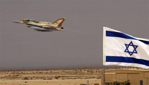 Израильская авиация атаковала сирийский военный объект в Эль-Кунейтре