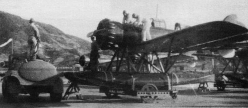 La hidroaviación de la flota submarina japonesa en la Segunda Guerra Mundial. Parte VI