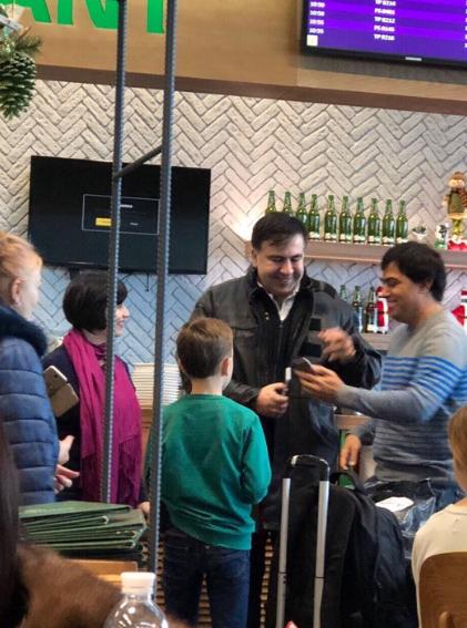 Goodbye, our sweet Misha! Saakashvili it's time to flee Ukraine