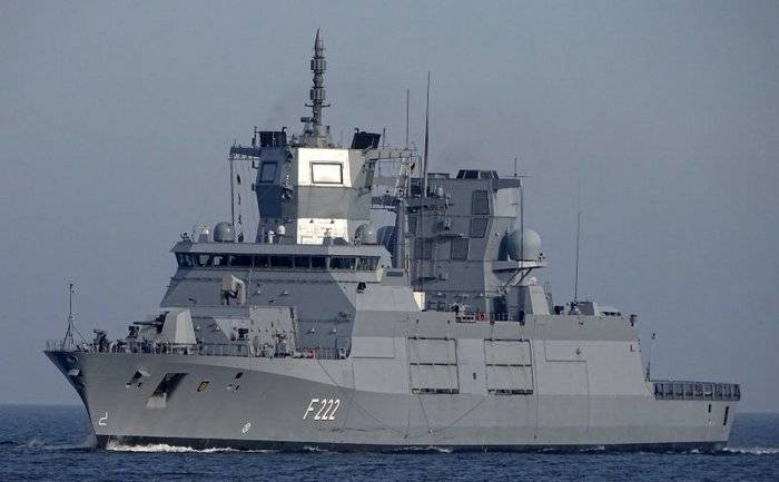 German sailors returned the new frigate for revision