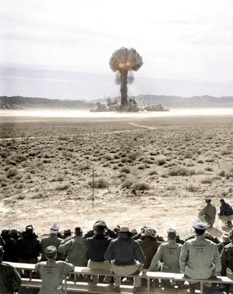 在美国计算了核试验的受害者人数