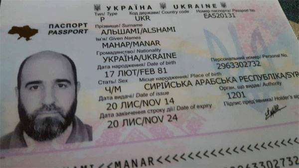 """What """"Syrians"""" does Kiev grant Ukrainian citizenship to?"""