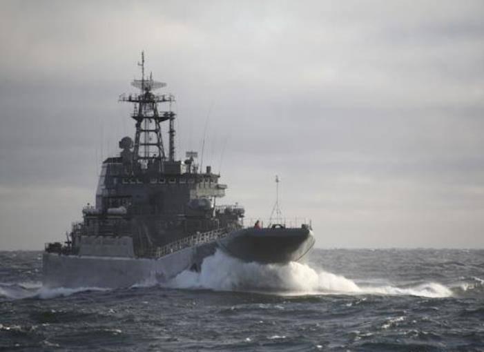 "BDK ""Alexander Otrakovsky""가 지중해에 입장했습니다."